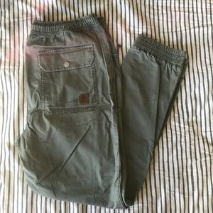 sea green without walls joggers - urban outfitters